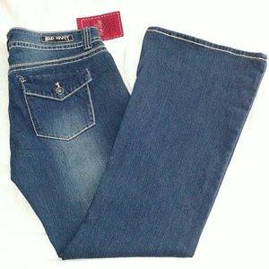 Red Rivet - Dark Wash Denim Bootcut Blue Jeans NWT